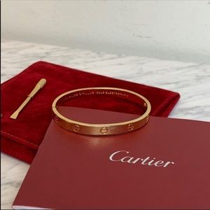 Charles reason 1970 Aldo Capulo love bracelets